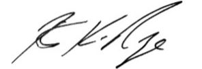 Robert K. Nye signature